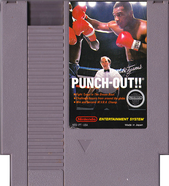 Mike Tysons Punch Out Cartridge