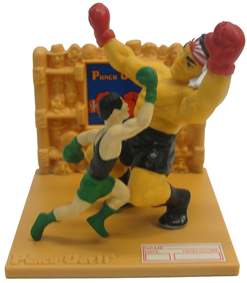 Punch Out Trophy Figure