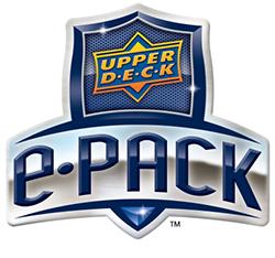 Upper Deck ePack Logo feature