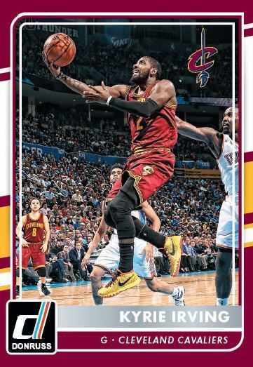 2015-16 Panini Cleveland Cavaliers Irving