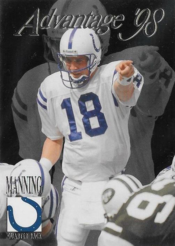 1998 Collectors Edge Advantage Manning