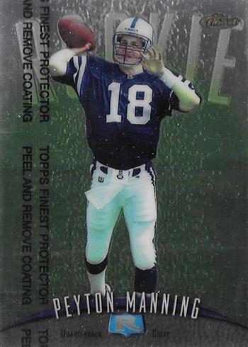1998 Finest Peyton Manning
