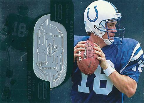 1998 SPx Finite Peyton Manning RC
