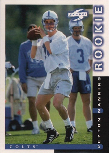 Ranking the Most Valuable Peyton Manning Rookie Cards cbc9998ec