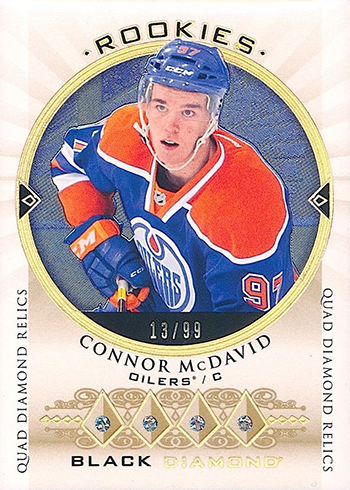 2015-16 Upper Deck Black Diamond Connor McDavid RC