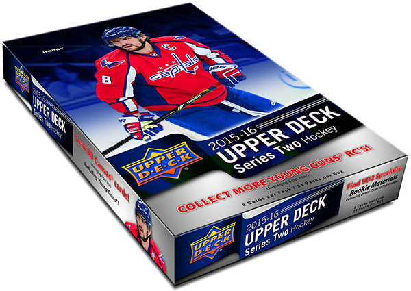 2015-16 Upper Deck Series 2 Hockey Box