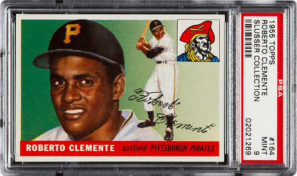 2015 Topps Roberto Clemente Rookie Card PSA 9
