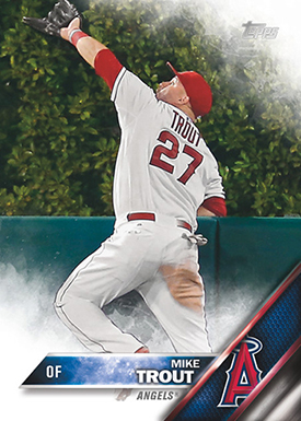 2016 T 1 Mike Trout