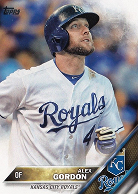 2016 T 206 Alex Gordon