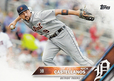 2016 T 253 Nick Castellanos