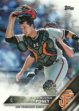 2016 T 300 Buster Posey