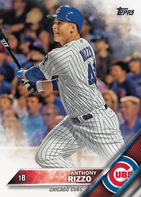 2016 T 327 Anthony Rizzo