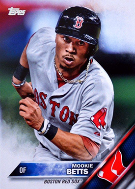 2016 T 84 Mookie Betts