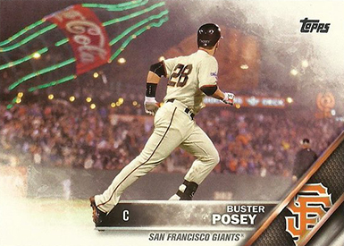2016 T Var 300 Buster Posey SSP
