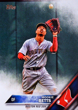 2016 T Var 84 Mookie Betts