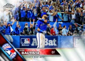 2016 Topps Chrome Baseball Base