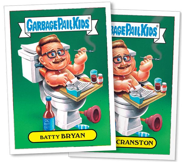 2016 Topps GPK Not-Scars Bryan Cranston