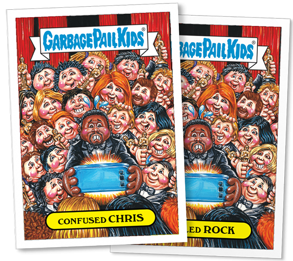 2016 Topps GPK Not-Scars Chris Rock