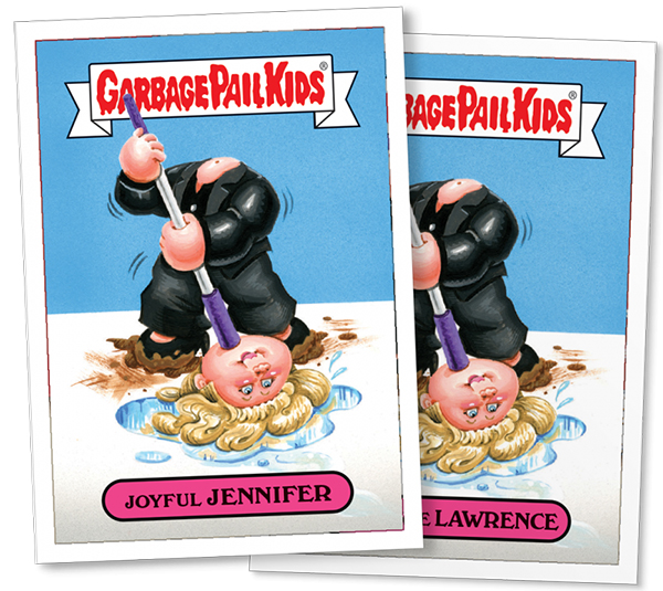 2016 Topps GPK Not-Scars Jennifer Lawrence