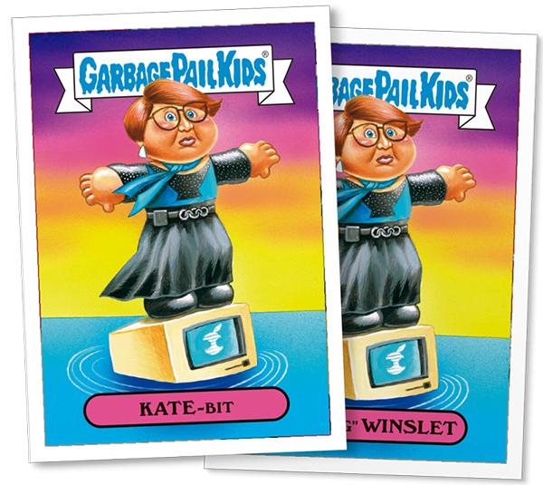 2016 Topps GPK Not-Scars Kate Winslet