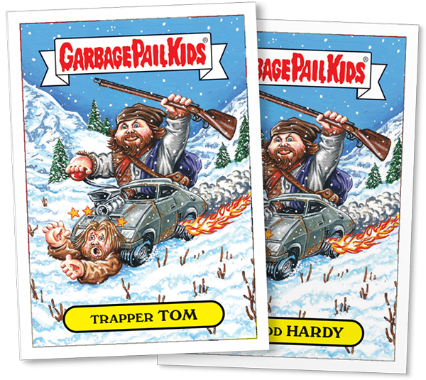 2016 Topps GPK Not-Scars Tom Hardy