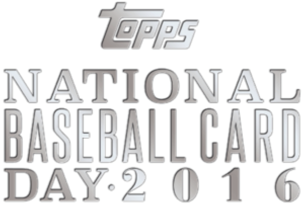 2016 Topps National Baseball Card Day Logo