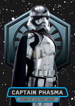 2016 Topps Star Wars The Force Awakens Chrome Power of the First Order
