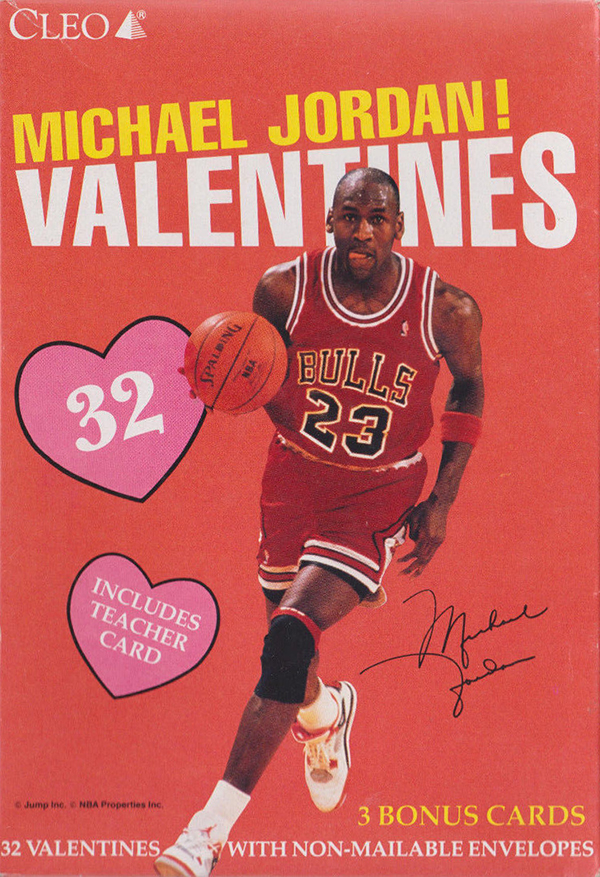 Cleo Michael Jordan Valentines Boxes