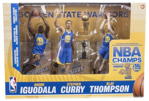 McFarlane Golden State Warriors Championship 3-Pack