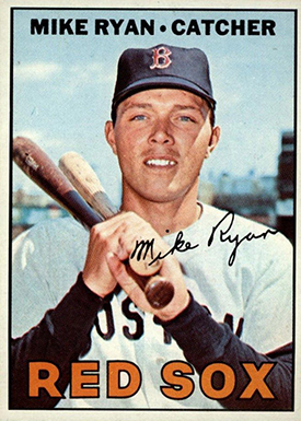 1967 Topps 223 Mike Ryan dotted