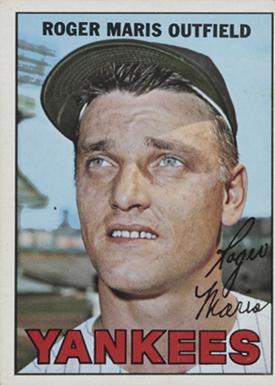 1967 Topps 45 Roger Maris Yankees