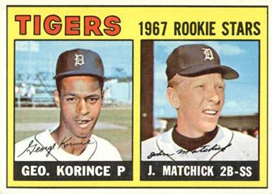 1967 Topps 72 Korince Matchick