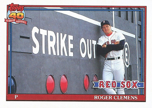1991 O-Pee-Chee Roger Clemens