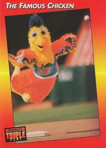 1992 Triple Play San Diego Chicken