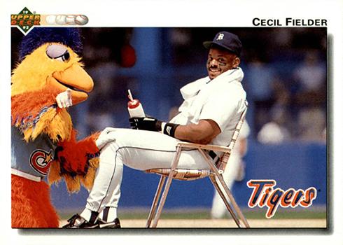 1992 Upper Deck Cecil Fielder