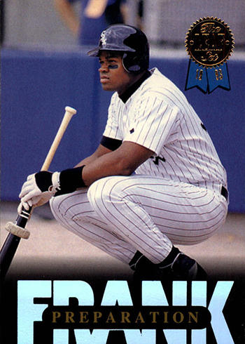 1993 Leaf Frank Thomas Collection 10