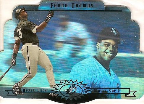 1996 SPx Baseball Frank Thomas