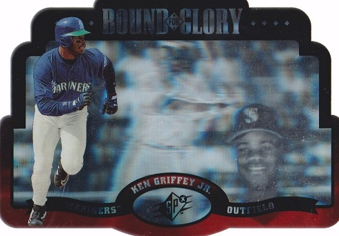 1996 SPx Bound for Glory Ken Griffey Jr