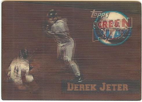 1997 Topps Screenplays Derek Jeter