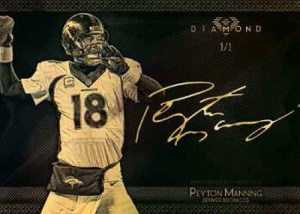 2015 Topps Diamond Football Peyton Manning Autograph