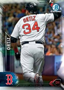 2016 Bowman Chrome Baseball Base