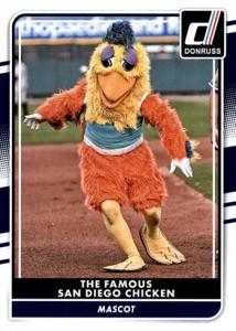 2016 Donruss San Diego Chicken