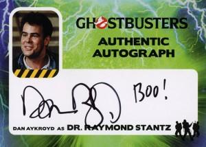 2016 Ghostbusters Autographs Dan Aykroyd