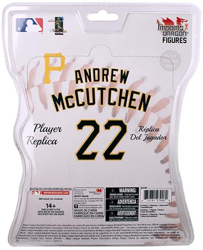 2016 Imports Dragon MLB Series 1 Andrew McCutchen Back