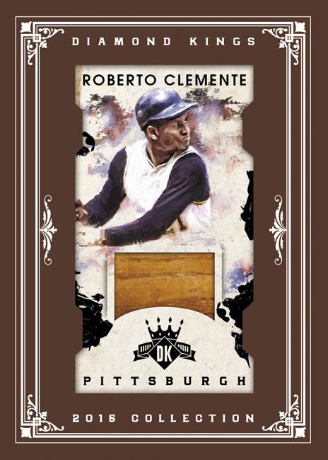 2016 Panini Diamond Kings Roberto Clemente Mini Relic