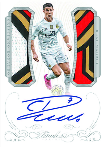 2016 Panini Flawless Soccer Dual Patch Autographs