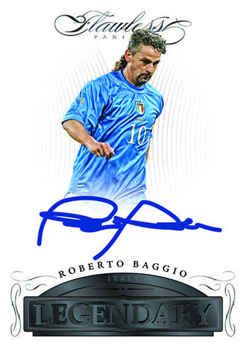 2016 Panini Flawless Soccer Legendary Signatures Black