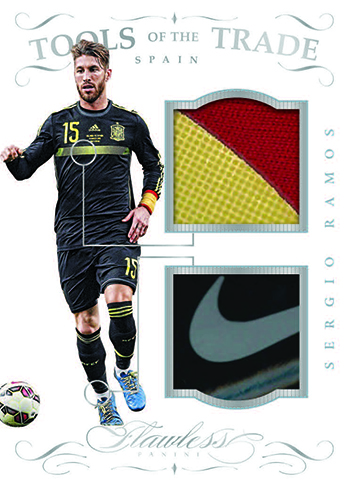 2016 Panini Flawless Soccer Tools of the Trade