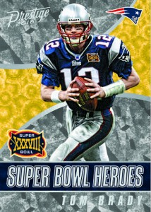 2016 Panini Prestige Football Super Bowl Heroes