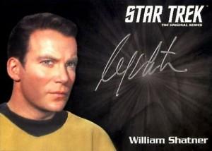 2016 Star Trek TOS 50th Anniversary Silver Signature William Shatner